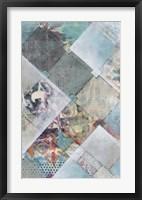 New Plaid II Framed Print