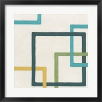 Non-Embellished Infinite Loop IV Framed Print