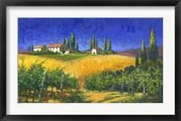 Framed Tuscan Evening