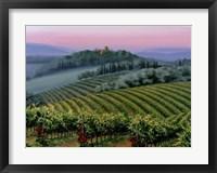 Chianti Dusk Framed Print
