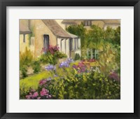 Framed Cotswold Cottage II