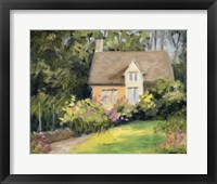 Framed Cotswold Cottage III