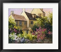Framed Cotswold Cottage V