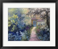 Framed Cotswold Cottage VI