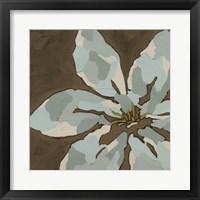 Patchwork Petals I Framed Print