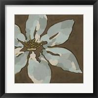 Patchwork Petals II Framed Print