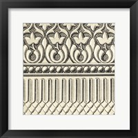 Framed Ornamental Tile Motif V