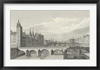 Framed Pont Au Change