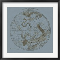 Framed Southern Circumpolar Map