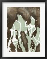 Silhouette Reversal II Framed Print
