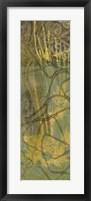 Safari Abstract I Framed Print