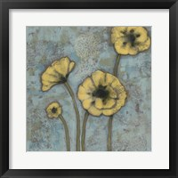 Sun Poppies II Framed Print