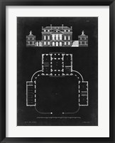 Framed Graphic Building & Plan II