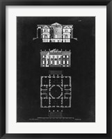 Framed Graphic Building & Plan V