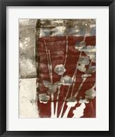 Rustic Blossoms I Framed Print