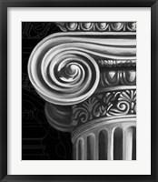 Ionic Capital Detail II Framed Print