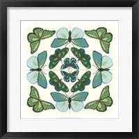 Butterfly Tile II Framed Print