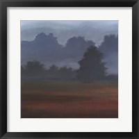 Early Morning Mist I Framed Print