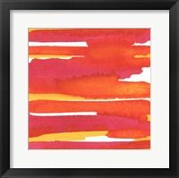 Sunset on Water II Framed Print