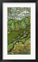 Green Landscape II Framed Print