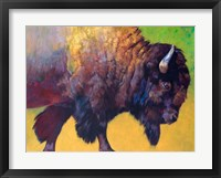 Framed Da Bull