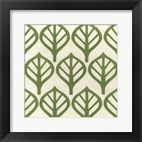 Cottage Leaves II Framed Print