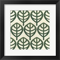 Cottage Leaves III Framed Print