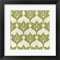 Cottage Leaves IV Framed Print