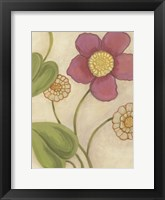 Framed Flower Medley II