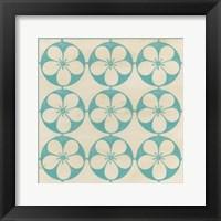 Floral Trellis III Framed Print