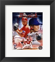 Framed Yu Darvish 2013 Portrait Plus