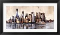 Framed New York From Afar