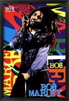Framed Bob Marley - Name