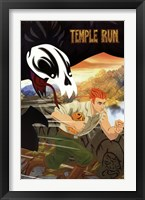 Framed Temple Run - Guy