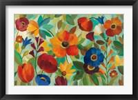 Framed Summer Floral V