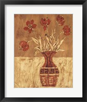 Framed Batik Tulips