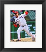 Framed Derek Holland 2013 Action