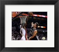 Framed LeBron James 2013 NBA Finals Action