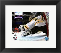 Framed Tuukka Rask Game 2 of the 2013 Stanley Cup Finals Action
