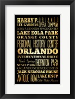 Framed Orlando I