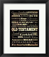 Framed Old Testament