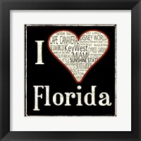 Florida Framed Print