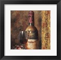 Wine Collection V Framed Print
