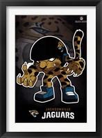 Framed Jacksonville Jaguars - Rusher 13