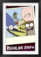 Framed Regular Show - Snapshot