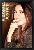 Framed Victoria Justice - Gold