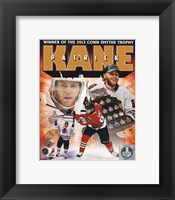 Framed Patrick Kane 2013 NHL Conn Smythe Trophy Winner Portrait Plus