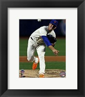 Framed Matt Harvey #33 of the New York Mets pitching during the 84th MLB All-Star Game on July 16, 2013