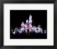 Framed Sleeping Beauty's Castle