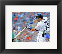 Framed Alex Avila 2013 Detroit Tigers
